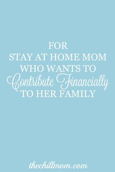 Build a business from home for stay at home mom