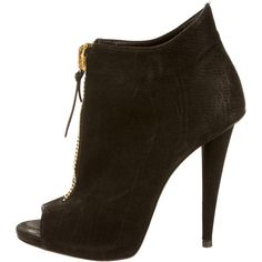 Pre-owned Giuseppe Zanotti Booties (11,155 PHP) ❤ liked on Polyvore