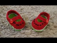 crochet shoes and sandal for kids, video tutorial | make handmade, crochet, craft