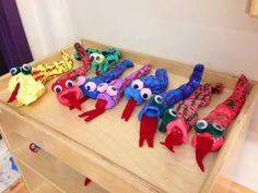 3rd grade - Plaster Craft Snakes