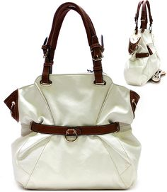 RAQ6627WHT ( Purse and Bag ) - Wholesale Jewelry at great value!