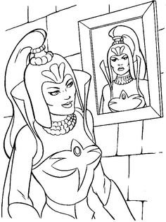 shera colouring pages Google Search paint fun