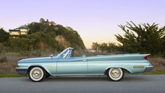 1960 Chrysler New Yorker Convertible HP, 1 of 556 Produced presented as lot at Monterey, CA 2015 - Vintage Cars, Antique Cars, Convertible, Plymouth Satellite, Plymouth Belvedere, Chrysler New Yorker, Chrysler Imperial, Dodge Chrysler, A30
