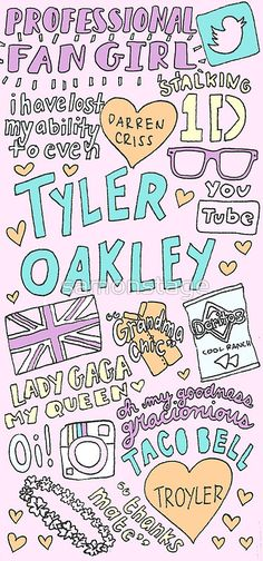"""Tyler Oakley Collage"" Photographic Prints by samonstage 