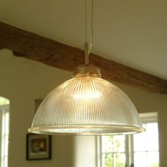 Kitchen Pendants - This Impressive Big Brother of our Standard Paris Pendant Light has a Massive Dome, Ideal for Casting an Impressive Orb of Light Over a Large Dining or Kitchen Pendant Lighting, Kitchen Pendants, Glass Pendant Light, Pendant Lamp, Pendant Lights, Bathroom Lighting, Lighting Uk, Modern Lighting, Lighting Ideas