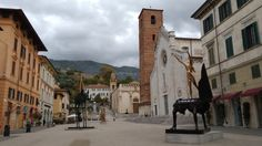 Pietrasanta, town in northern Tuscany known for artists and marble sculptors