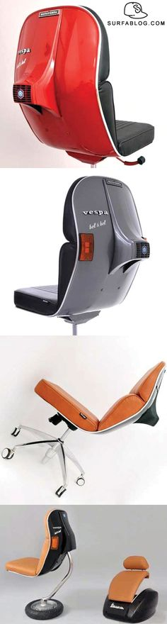 Vespa chair by Bel & Bel's