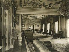 Interior Marion Davies Beach House