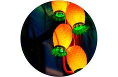 adoro FARM - faça você mesma: luminária de abacaxi