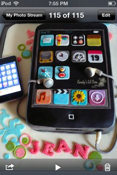 I PHONE cake lol so cool