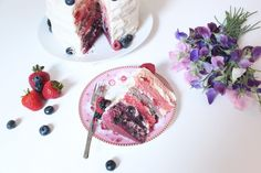 Summer Fruits Cake by Zoella, would love to try and make it once school is over //