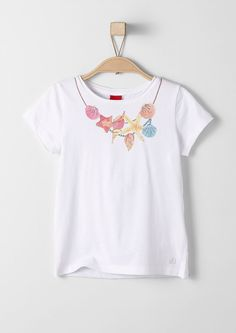 Buy T-shirt with a necklace print | s.Oliver shop