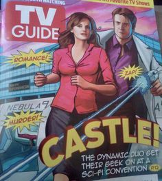 "Castle ""The Final Frontier"" TV Guide Cover 2012"