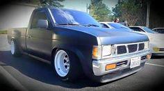 #Nissan_D21 #MiniTruck #Pickup #SingleCab #Modified #Lowered #Slammed #Stance Nissan Vans, Nissan Trucks, Drift Truck, Nissan Hardbody, Lowered Trucks, Off Road, Mini Trucks, Import Cars, Toyota Hilux