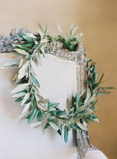 Olive wreath for the