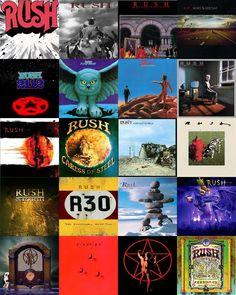 Rush cd album covers by Dominator24.deviantart.com on @deviantART