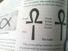"The Ankh - (/ˈæŋk/ or /ˈɑːŋk/; Egyptian: IPA: [ʕaːnax]; ☥, also known as key of life, the key of the Nile or crux ansata (Latin meaning ""cross with a handle""), was the ancient Egyptian hieroglyphic character that read ""life"", a triliteral sign for the consonants ꜥ-n-ḫ. It represents the concept of eternal life, which is the general meaning of the symbol.The Egyptian gods are often portrayed carrying it by its loop, or bearing one in each hand, arms crossed over their chest."