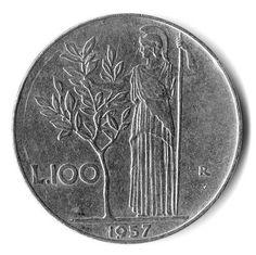 L'olivo e le sue leggende Rare Coin Values, Vintage Italian Posters, Euro Coins, Valuable Coins, Coin Collecting, Memories, History, Alfred Hitchcock, Gelato