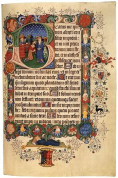 SCHEERE, Herman German illuminator (active 1403-1419 in England) Bedford Hours and Psalter 1414-23 Manuscript (Additional Ms. 42131), 407 x 279 mm British Library, London