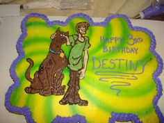 Scooby Doo and Shaggy