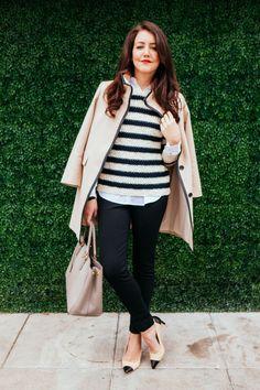 Striped Sweater - Dallas Wardrobe