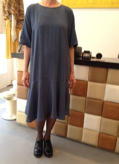 Just Female Oversized Drop Waist Blue Dress €117