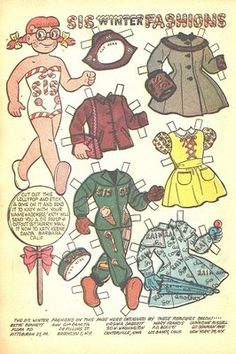 KATY KEENE COMIC NO.15 (1956-57) 6 PAPER DOLL PAGES | eBay