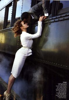 love the idea of a vintage train photo shoot