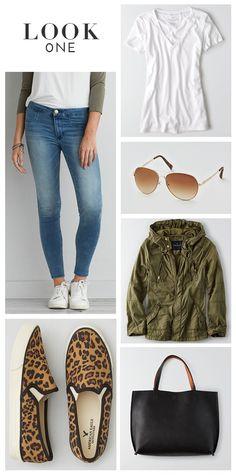 5 Ways To Wear Jeans #AEOStyle