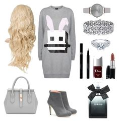 """◼◾▪♥▪◾◼"" by alma-salkic ❤ liked on Polyvore featuring moda, McQ by Alexander McQueen, Olivia Burton, MAC Cosmetics, Christian Dior, Torrid, Palm Beach Jewelry, Sisley, women's clothing y women's fashion"
