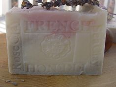 Provence Lavender / Jasmine Grandiflorum with Sea and Rose Clay Face and Body Soap .Rich lather, bits of lavender flowers and the relaxing scent of lavender and jasmine in this beautiful soap.