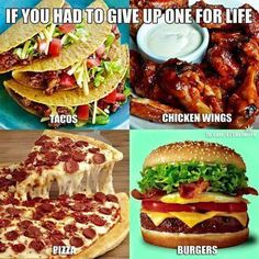 Comment Below On Which One You Would Give Up!  #health #food #weightloss