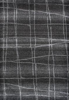 Zuri Chalkboard Checkers Gray Area Rug