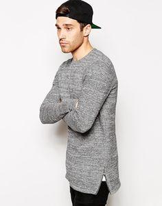 Enlarge ASOS Longline Sweater with Zips