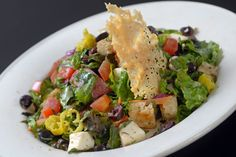 Salad from Bread Winners Cafe and Bakery in Dallas, TX