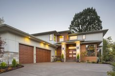 3 Bed Prairie with 2 Story Great Room - 69597AM | Contemporary, Modern, Northwest, Prairie, Luxury, Photo Gallery, Premium Collection, 2nd Floor Master Suite, Butler Walk-in Pantry, CAD Available, Den-Office-Library-Study, Jack & Jill Bath, Media-Game-Home Theater, PDF | Architectural Designs