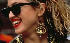 5 Ways Desperately Seeking Susan Changed My Life Celebrity Pictures, Celebrity Style, Blond, 1980s Madonna, Desperately Seeking Susan, 1980s Hair, 80s Earrings, Style Icons, 80s Style