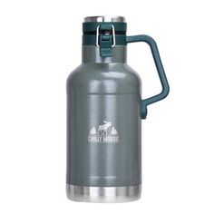 The Big Pine Canteen is a solid ideal for interior camping, on the job site or anywhere your day takes you. The stainless steel vacuum insulated body and lid will keep cold drinks cold for 24 hours, and hot drinks hot for 18 hours. Stainless Steel Growler, Canteen, 8 Hours, Adventure Awaits, Cold Drinks, Mittens, Pine, Vacuums, Water Bottle