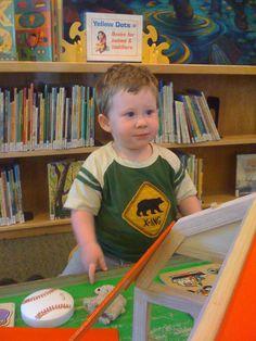 At the Palo Alto Children's Library