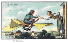 What France in 1900 thought email would look like