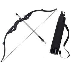 Mtxc Marvel's The Avengers Cosplay Hawkeye Clint Barton Bow and arrow... ❤ liked on Polyvore featuring accessories and weapons
