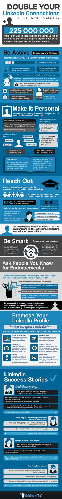 Get the Most Out of LinkedIn with These Easy Tips via @Brazen Careerist