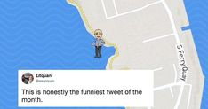 Man caught in hilariously awkward situation on Snap Maps