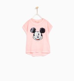 ZARA - KIDS - SEQUINNED MICKEY MOUSE T-SHIRT