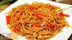 Egyszerű kínai zöldséges tészta recept elkészítése videóval. A kínai zöldséges tészta elkészítését, részletes menetét leírás is segíti. New Years Eve Food, Wok, Japchae, Spaghetti, Food And Drink, Vegetables, Cooking, Ethnic Recipes, Food Ideas