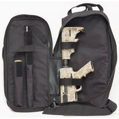 Just Right Carbine Takedown Gun Sling Pack Rifle Case Padded Synthetic Fabric Black JRC-TD-SP-BLK - 723175700376