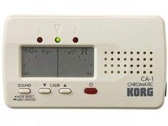 Afinador Cromático - Korg CA 1 com as melhores condições você encontra no Magazine Edmilson07. Confira!