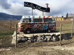 Ruby Blues is a funky and very cool winery on Naramata Bench worth visiting!
