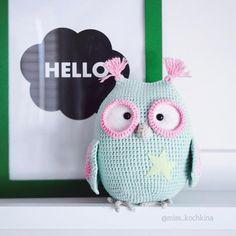 Matilda the owl. Crochet toy