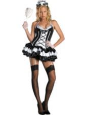 sc 1 st  Pinterest & Black Two Tone Bow Polyester Sexy French Maid Costume | Maids
